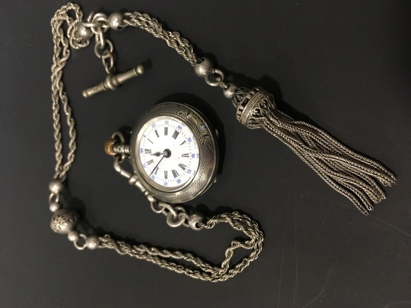 French Rope Watch Chain Gold-Filled