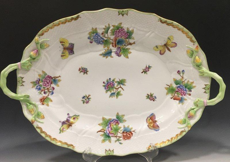 Herend Queen Victoria Pattern Platter