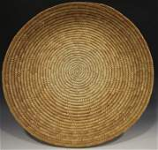 Coiled American Indian Basket