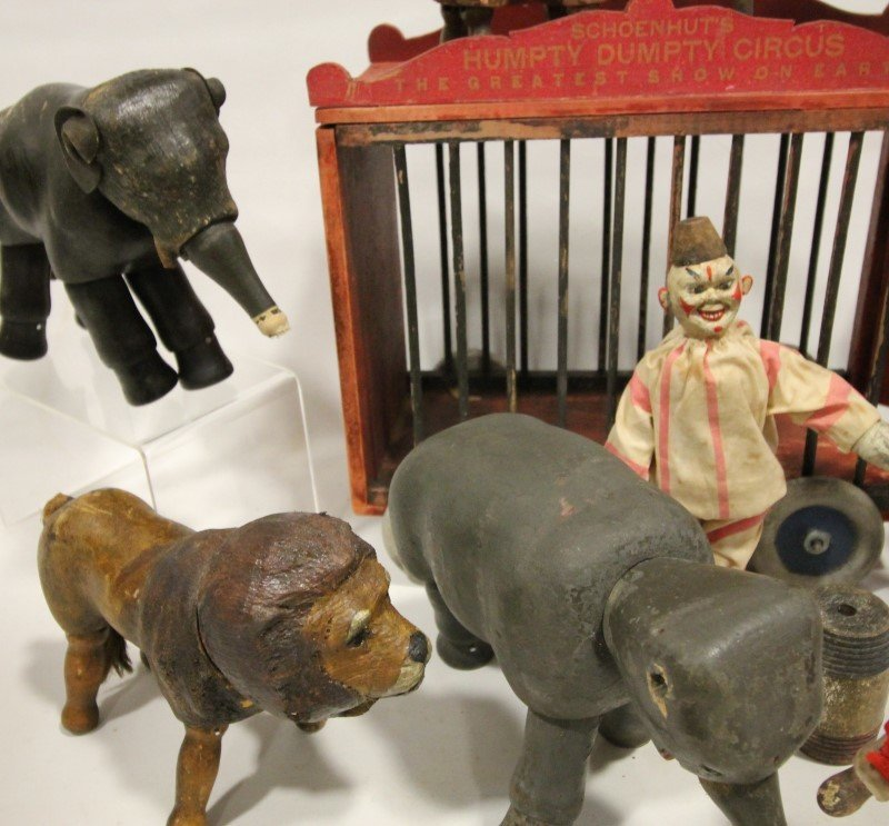 19th C Schoenhut Humpty Dumpty Circus - 4