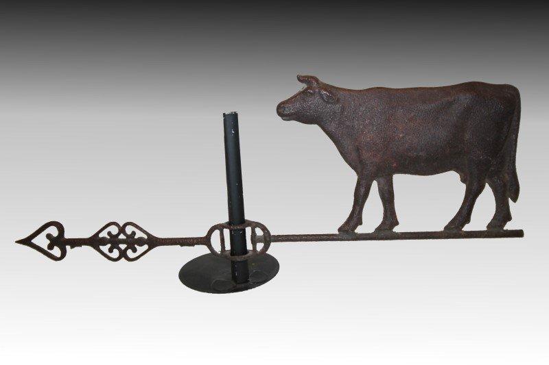 Weathervane Cow & Arrow