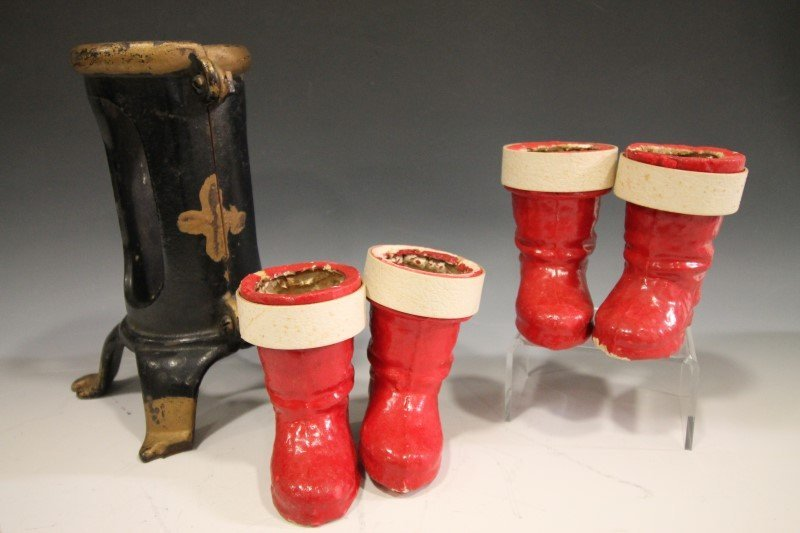 Christmas Tree Stand & Candy Containers