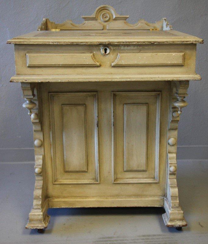 Painted Davenport Desk