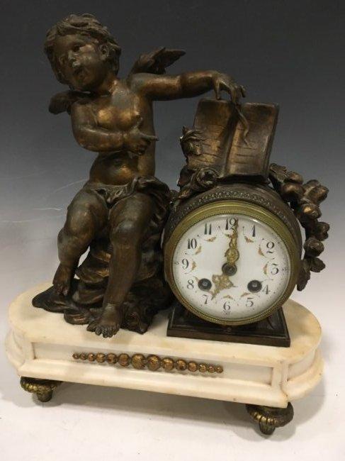 Putti Mantle Clock