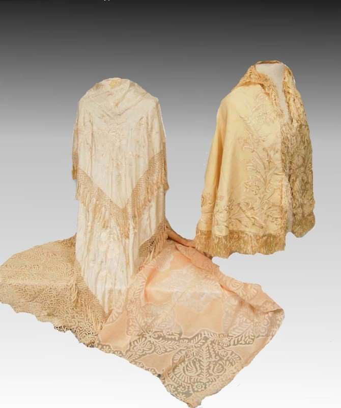 Victorian Textiles - Silk & Lace