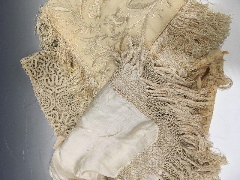 Victorian Textiles - Silk & Lace - 2