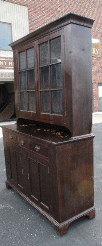 1830s New England Stepback Cupboard - 2