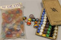 Group of Vintage Playing Marbles