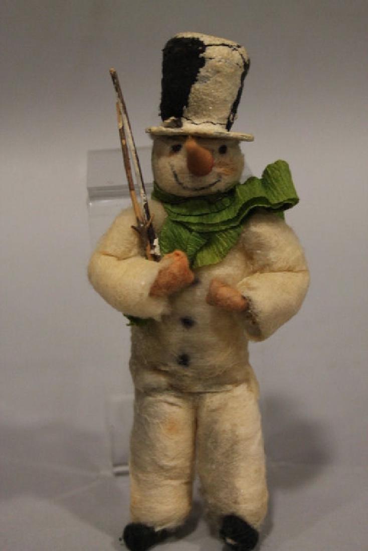 Christmas Ornament - Spun Cotton Frosty the Snowman