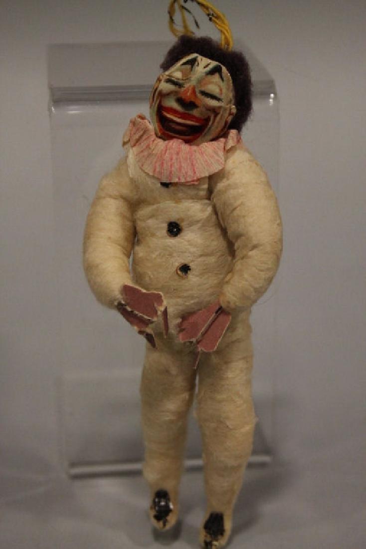 Christmas Ornament - Spun Cotton Clown