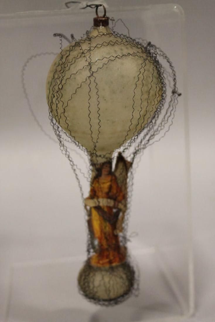 Christmas Ornament - Wired Glass Balloon