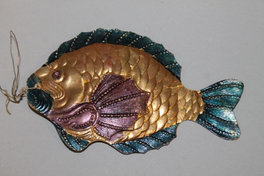 Christmas Ornament - Dresden Fish