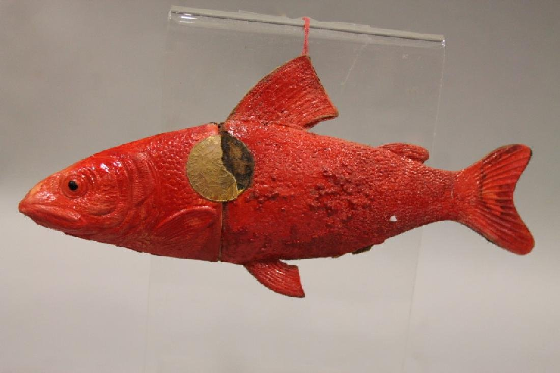 Gustav &Wilhelm Dresden Fish Candy Container Ornament