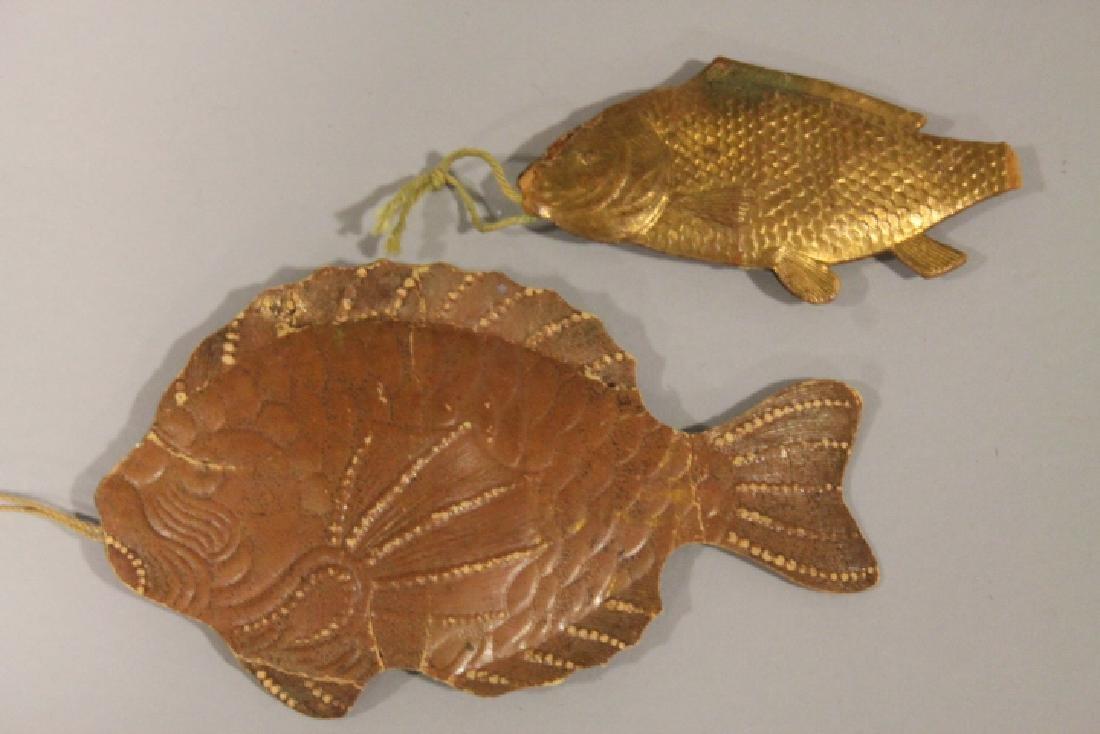 Christmas Ornament -  2 Dresden Fish