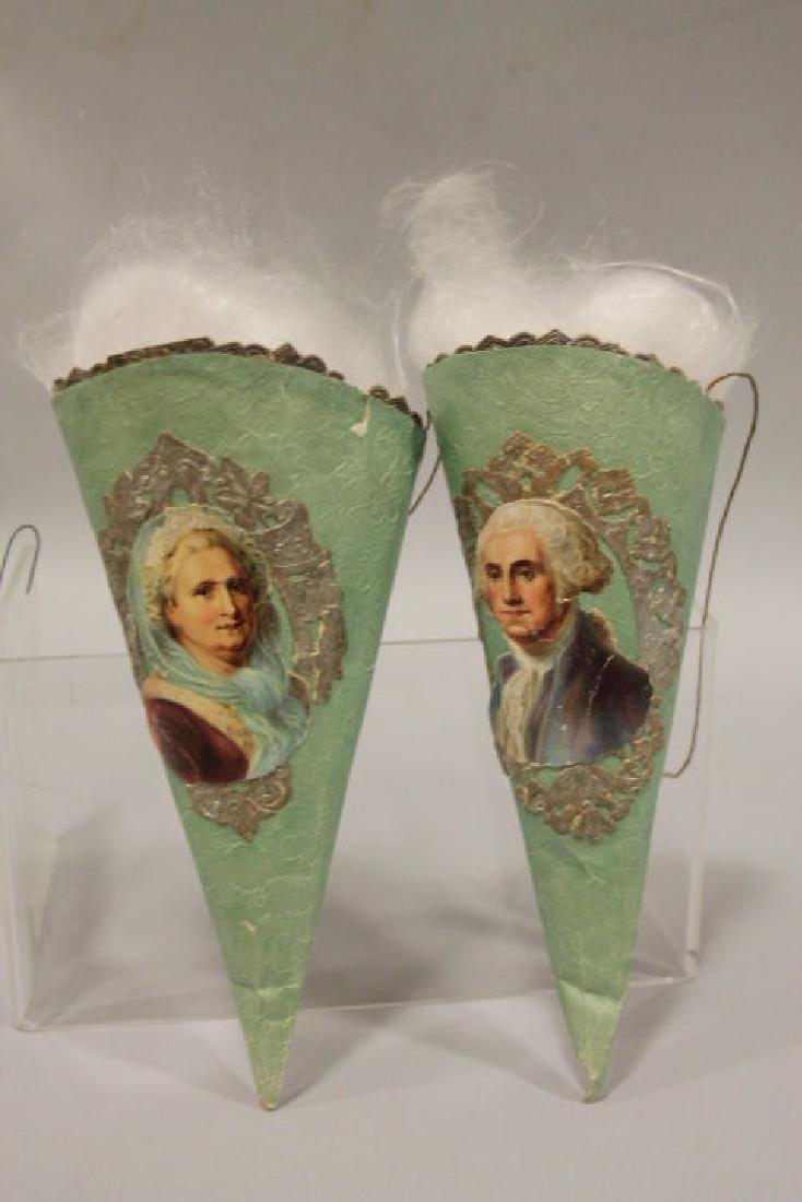 George Martha Washington Cornucopia Candy Containers