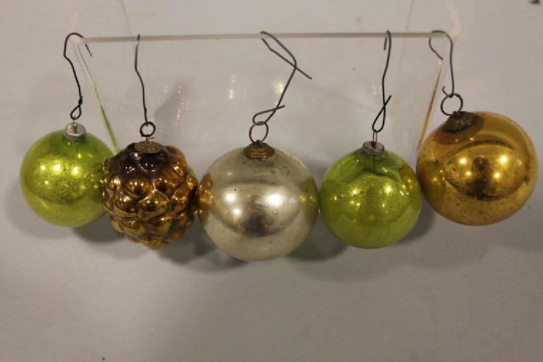 Christmas Ornament - Very Thin Glass Round Ornaments
