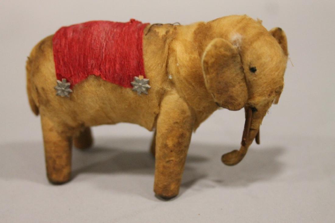 Christmas Ornament - Spun Cotton Elephant