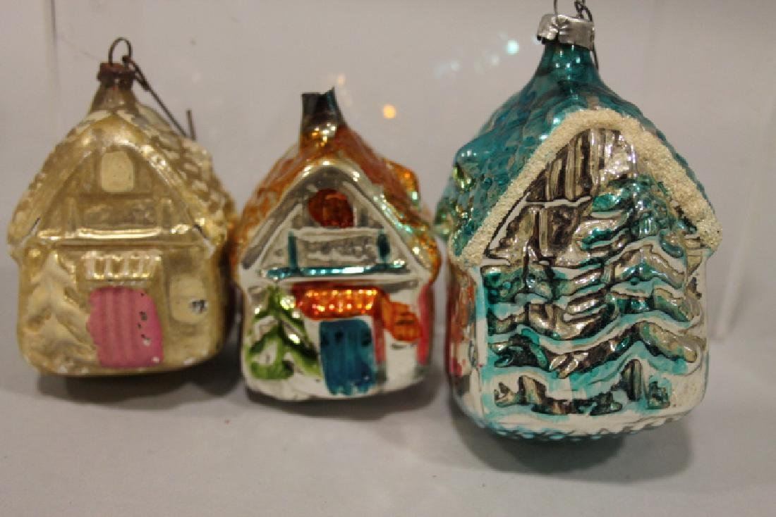 Christmas Ornament - Glass Cottages