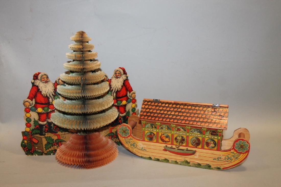 Christmas Noah's Ark Box & Santa Christmas Book
