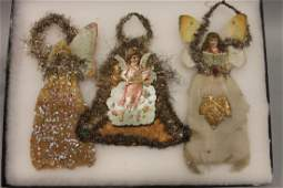 Lithographed Paper Ornaments  Angels
