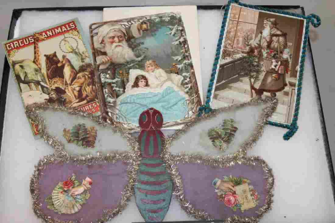 Lithographed Paper Ornaments - Ephemera