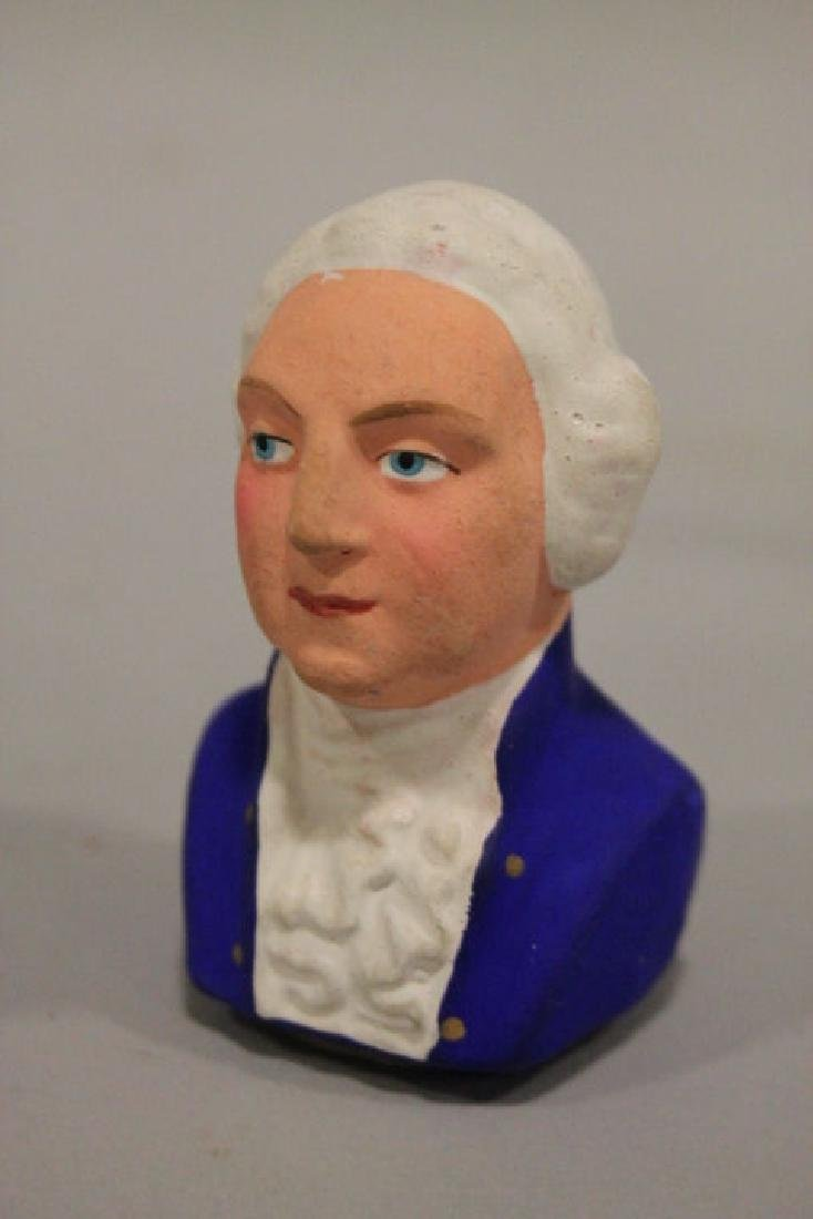 Patriotic George Washington Bust Candy Container