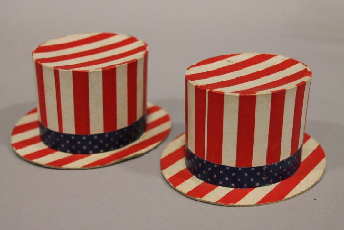 Patriotic Candy Containers - Uncle Sam Hats