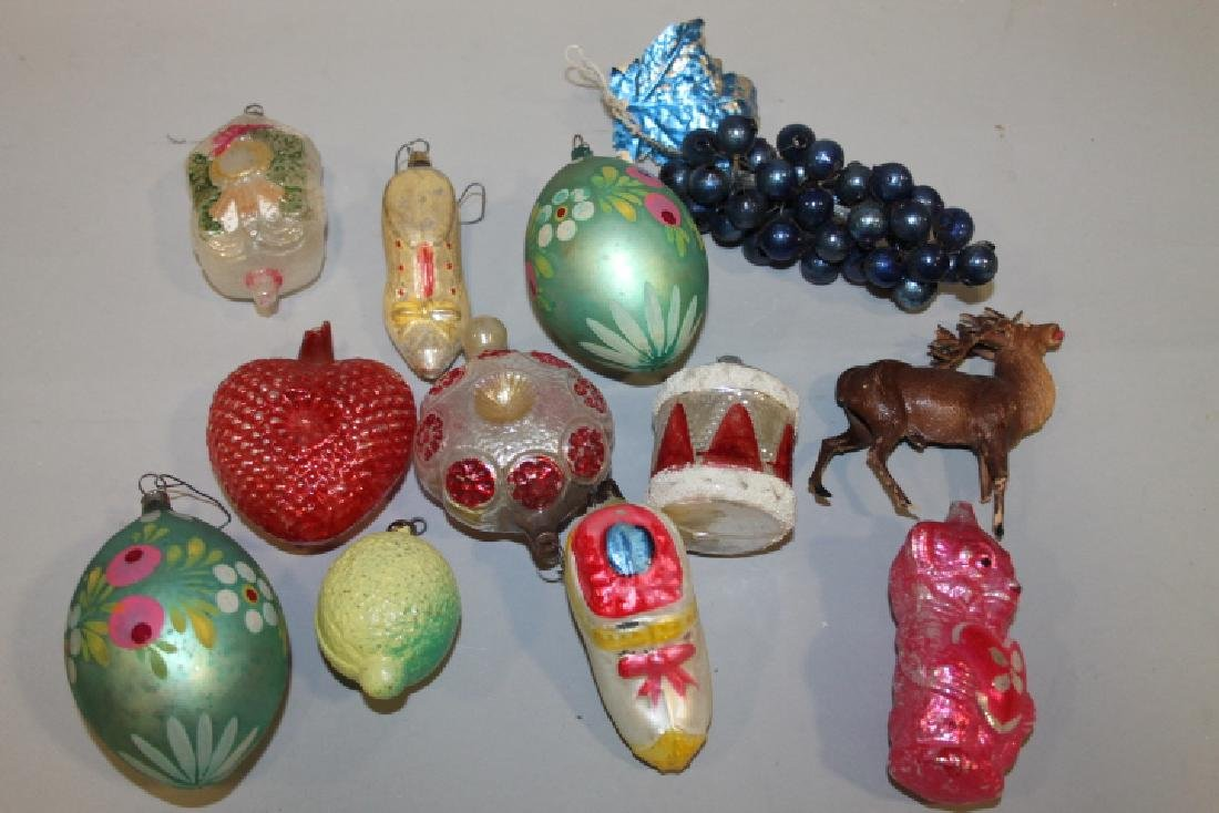 Christmas Ornaments - Various Shaped Glass