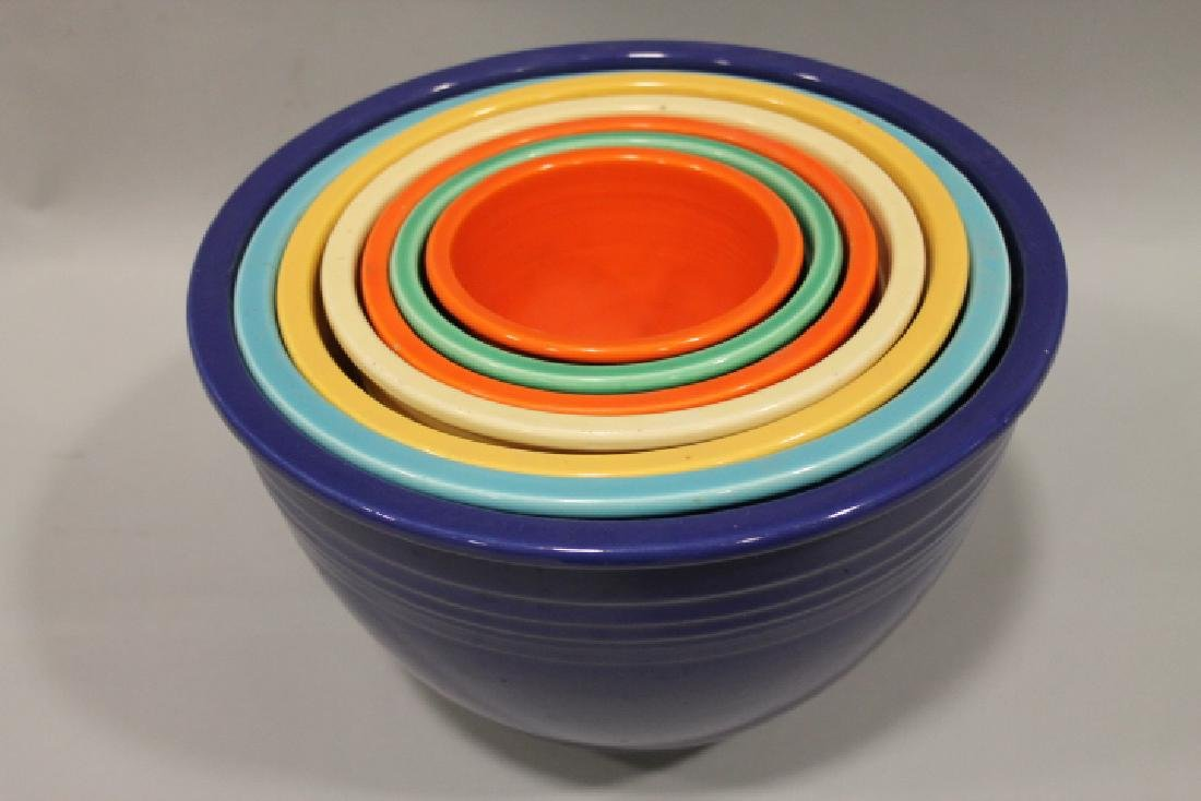 1930s Fiesta Nested Bowls