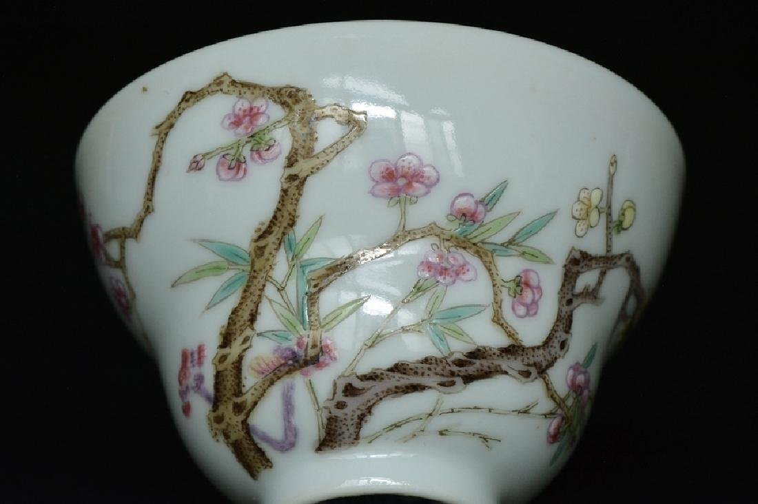 $1 Chinese Porcelain Cup Qianlong Mark & Period - 5