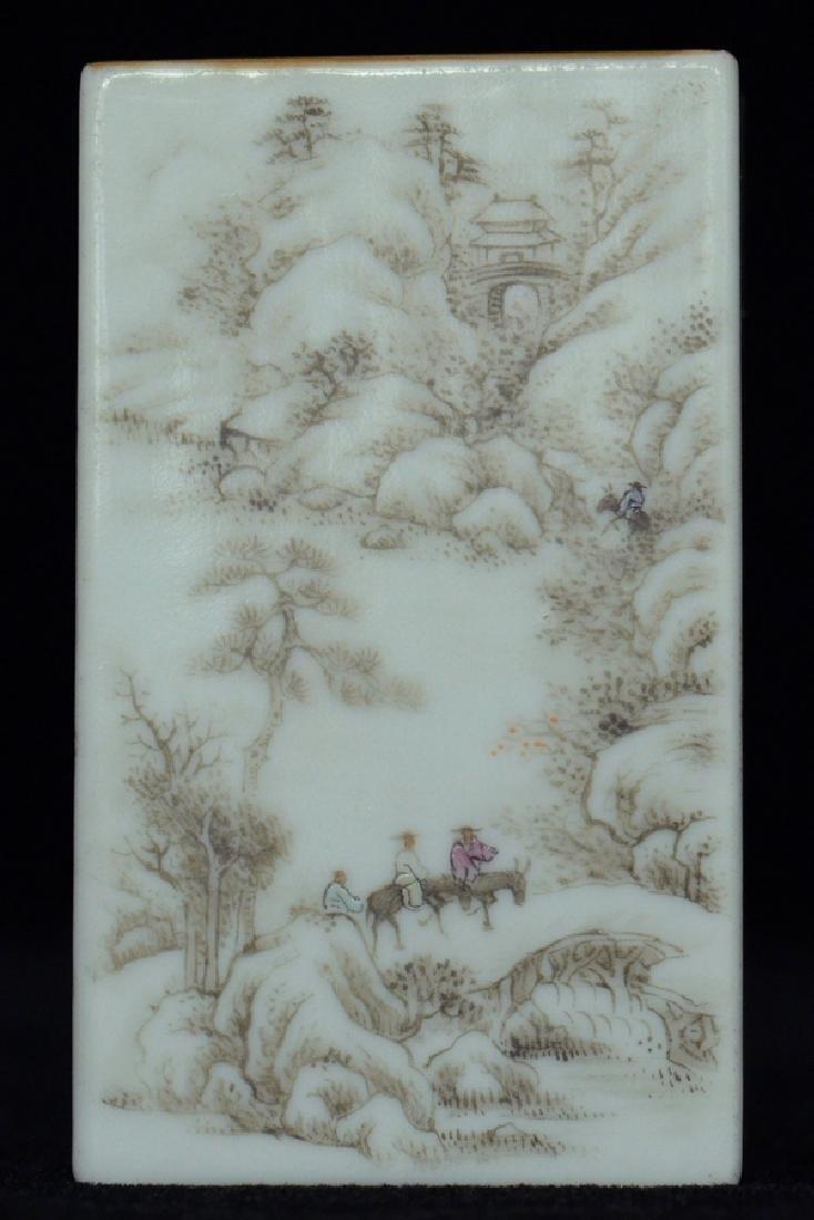 $1 Chinese Brush Pot Qianlong Mark and Period - 6