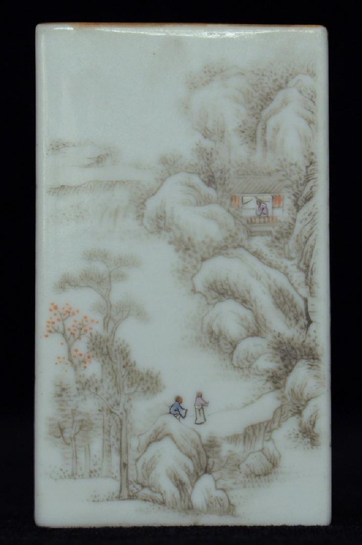 $1 Chinese Brush Pot Qianlong Mark and Period - 7