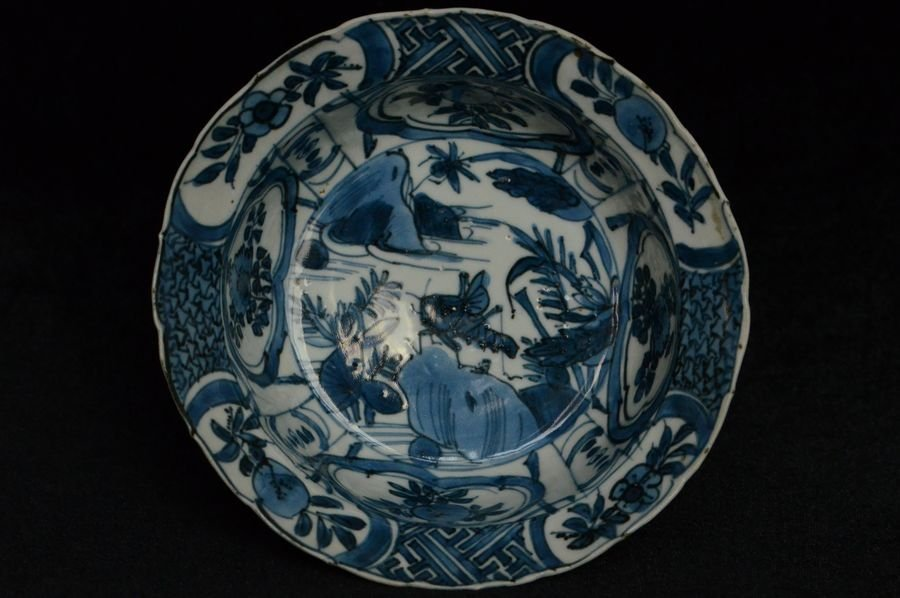 Chinese Ming Blue and White Bowl 16th C