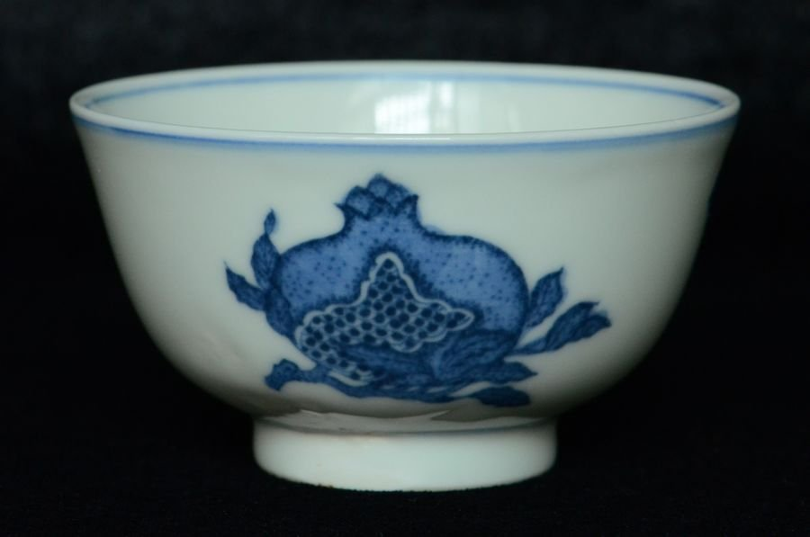 Chinese Blue and White Bowl Kangxi Mark