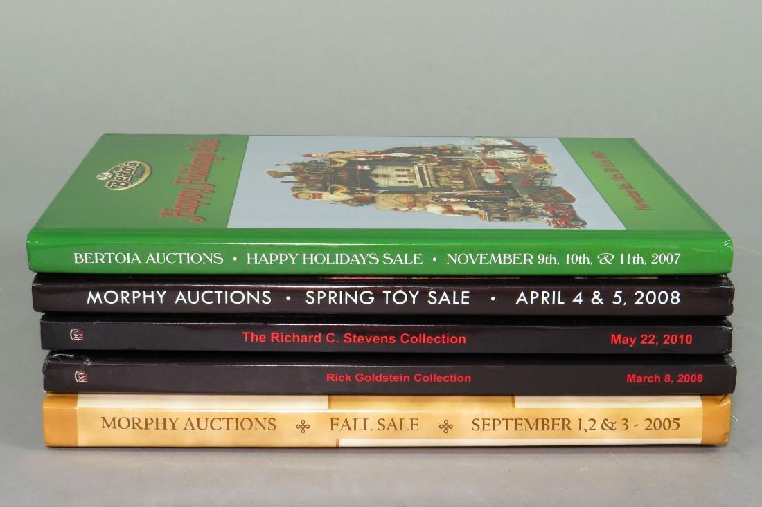 Lot of 5 Auction Catalogs