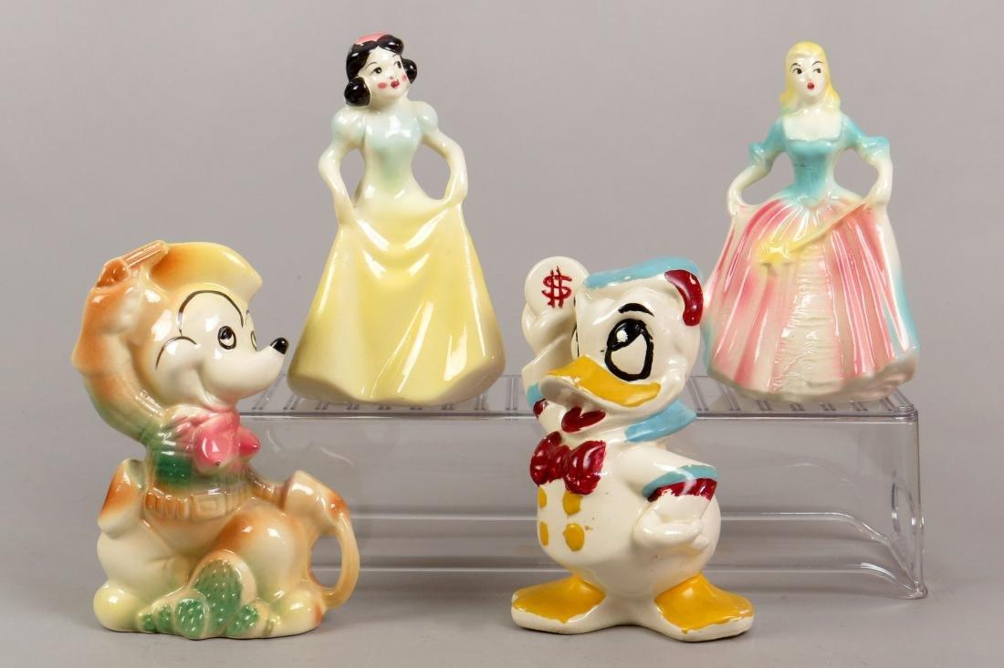 Lot of 4 Ceramic Banks