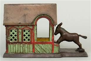 CI Mule Entering Barn Mechanical Bank