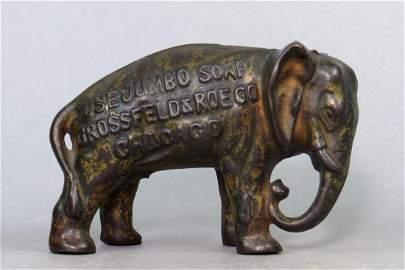 "CI ""Use Jumbo Soap"" Elephant Bank"