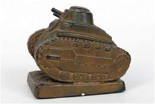 Metal Tank Bank