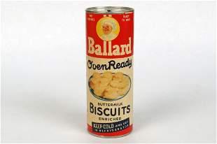 "Cdbd/Tin ""Ballard Biscuits"" War Adv. Bank"