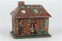 CI Gingerbread House Bank
