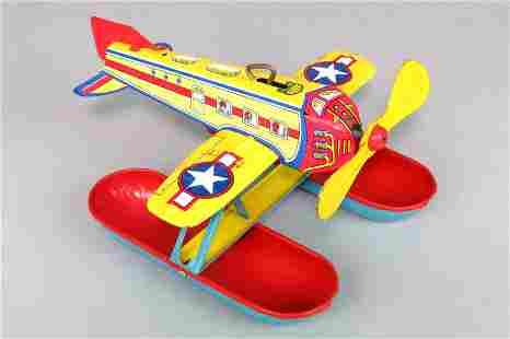 """Tin """"Chein"""" Airplane Toy"""