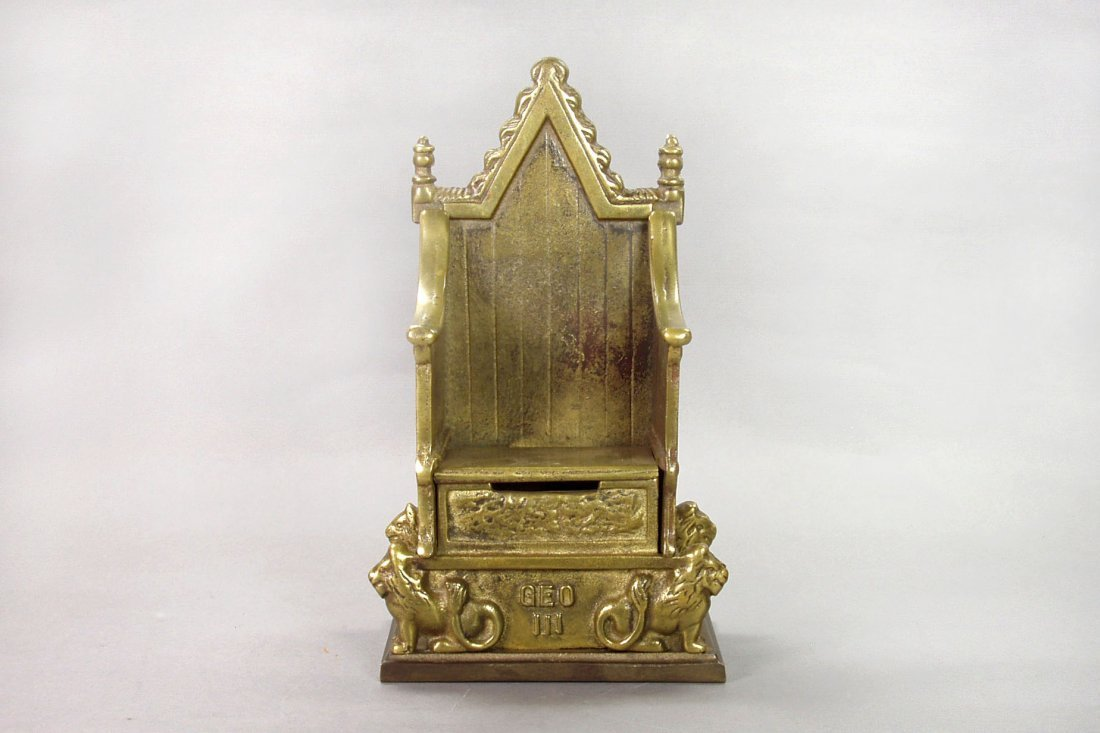 14: English Throne - Brass