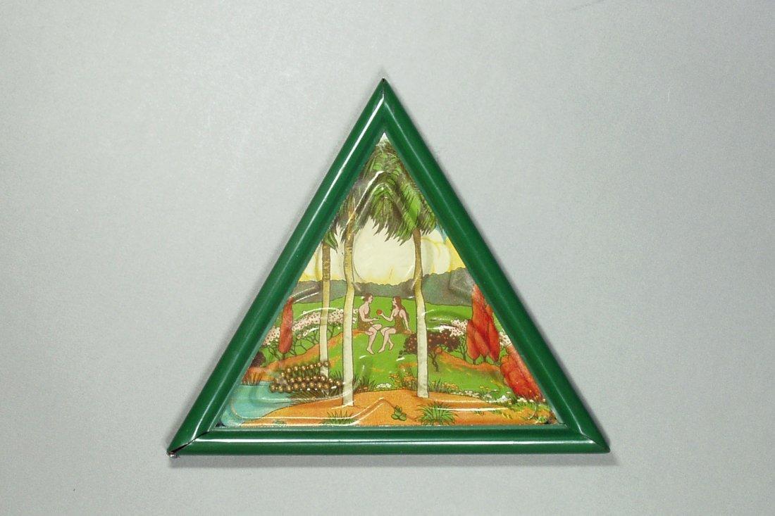 Triangular Hand Held Dexterity Puzzle