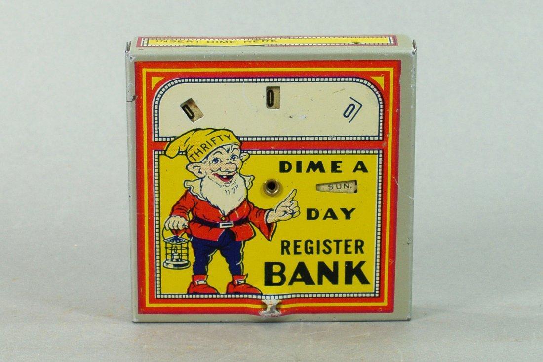 Elf Dime Register Bank