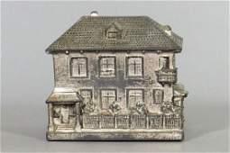 German Chalet, Silvered Lead Bank