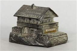 Chalet Silvered Lead Bank