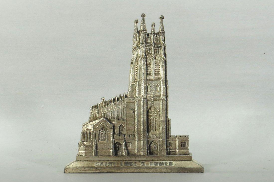 """Saint Luke's Tower"" Still Bank w/key"