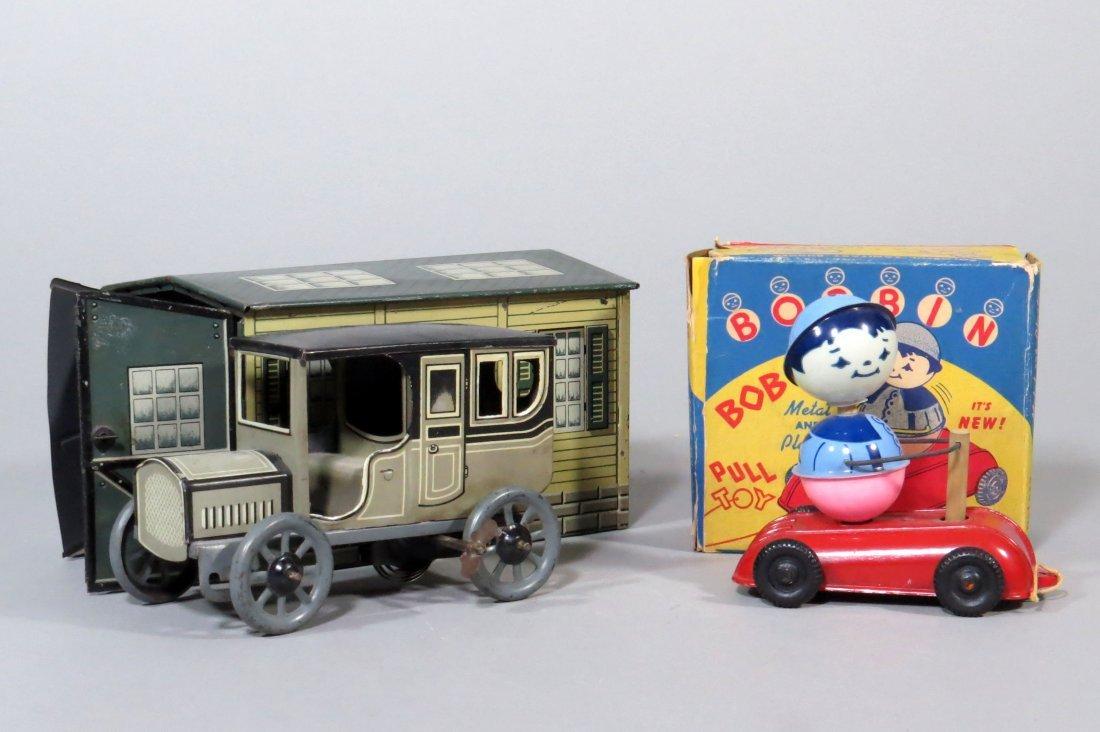 Lot of 2 Tin Toys