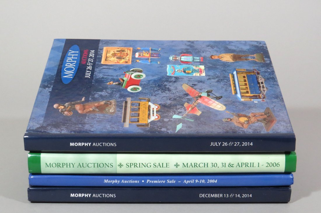Lot of 4 Morphy Auction Catalogs
